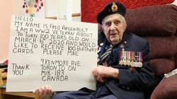 ?? All This War Vet Wants For His 100th Birthday Are Cards From