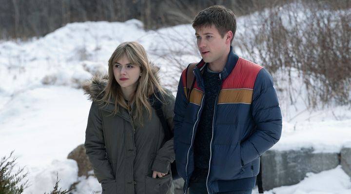 "Emilia Jones and Connor Jessup in ""Locke & Key."""