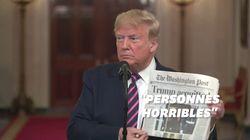 Donald Trump fête son acquittement en s'en prenant à ses