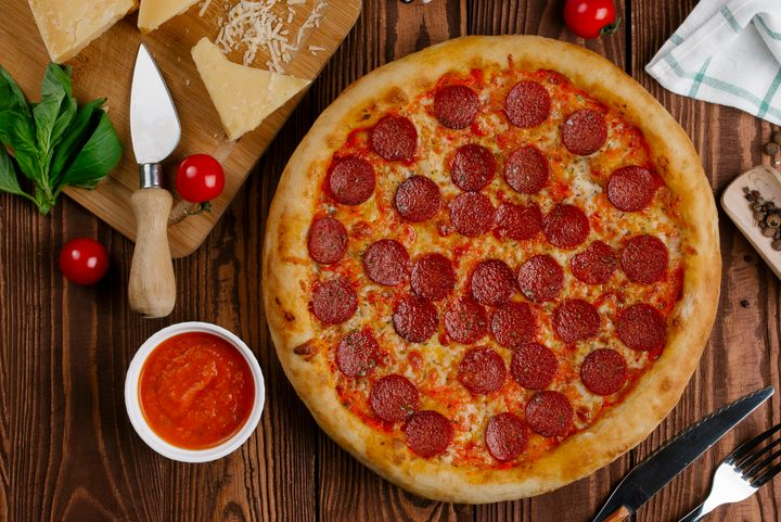 Pepperoni often dominates pizza topping popularity lists.