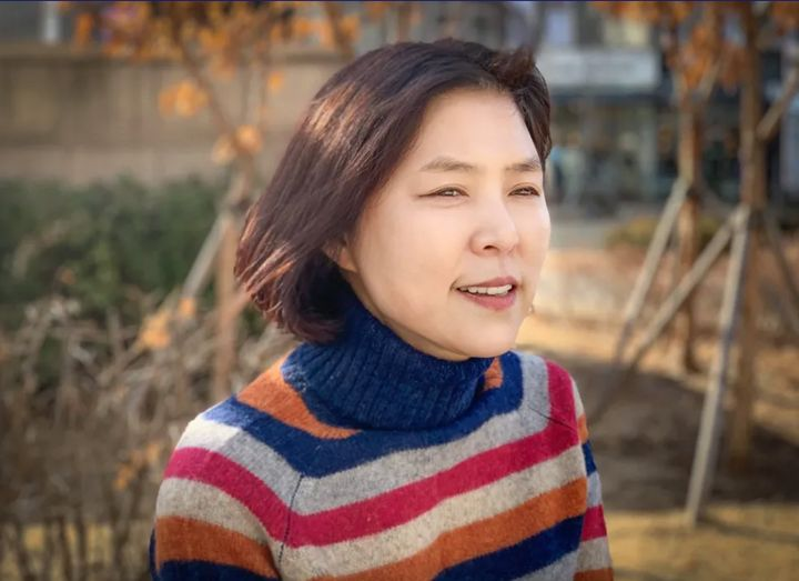 Author Young-ju Kim wrote a letter of resignation to her husband's family in 2013.