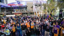 Kobe Bryant Memorial Gehalten Werden, Feb. 24 At L. A. ' s Staples Center