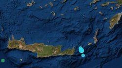 Σεισμοί έως 4,6 Ρίχτερ μεταξύ Κάσου και