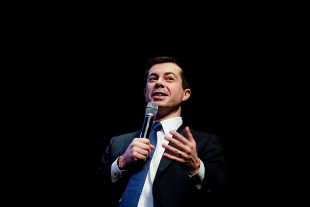 Pete Buttigieg, Democratic presidential candidate and former South Bend, Indiana mayor attends the NH...