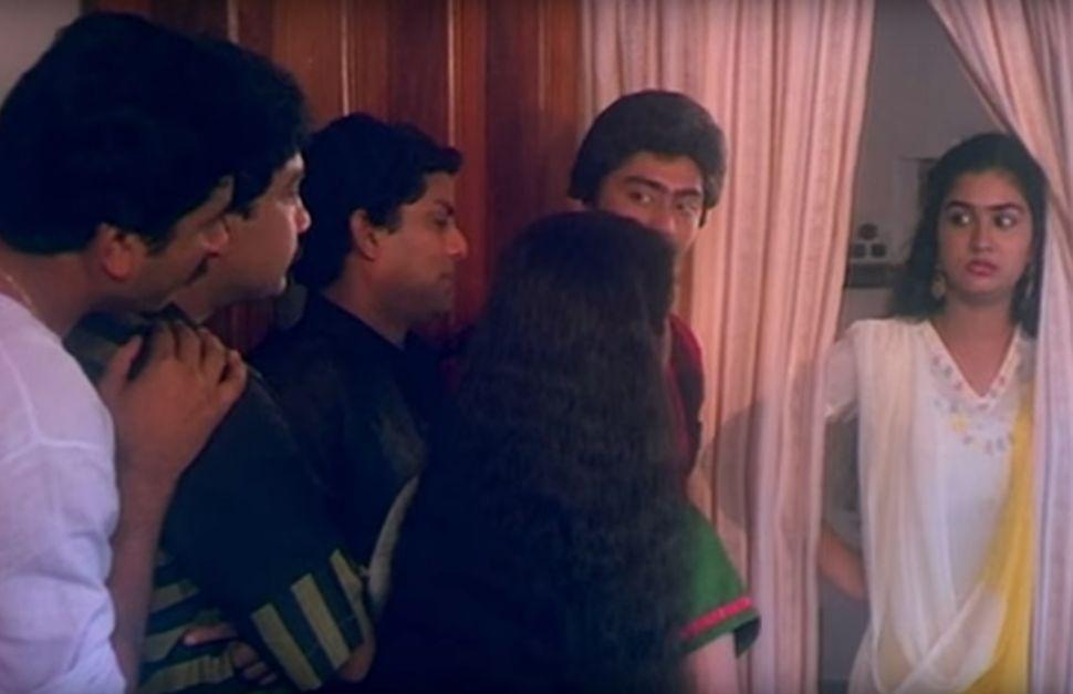 Urvashi as Fify in 'Swagatham' (1989)
