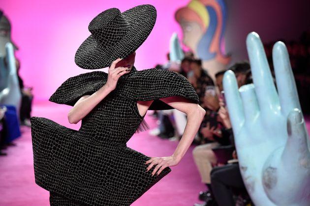 Coco Rocha en a bluffé plus d'un à la Fashion Week, Leslie Jones la