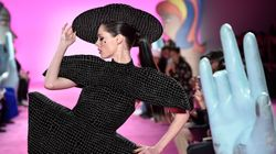 Coco Rocha en a bluffé plus d'un à la Fashion Week, Leslie Jones la