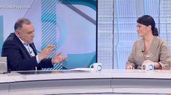 Xabier Fortes no puede morderse la lengua tras la explicación de Olona (Vox) sobre el veto parental: