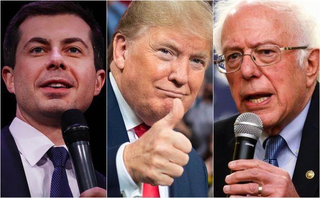 Pete Buttigieg, Donald Trump y Bernie Sanders, los protagonistas de la semana en