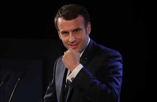 Macron vante le