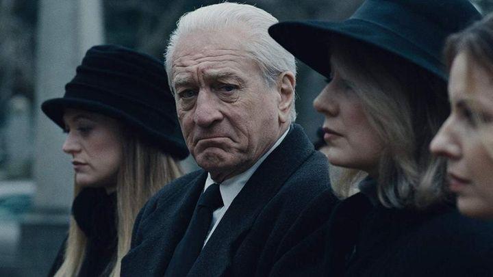 Robert De Niro en una escena de 'El irlandés'.