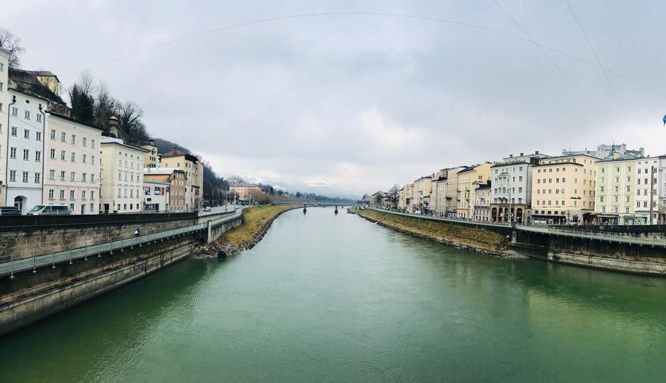 Ο ποταμός Ζάλτσαχ