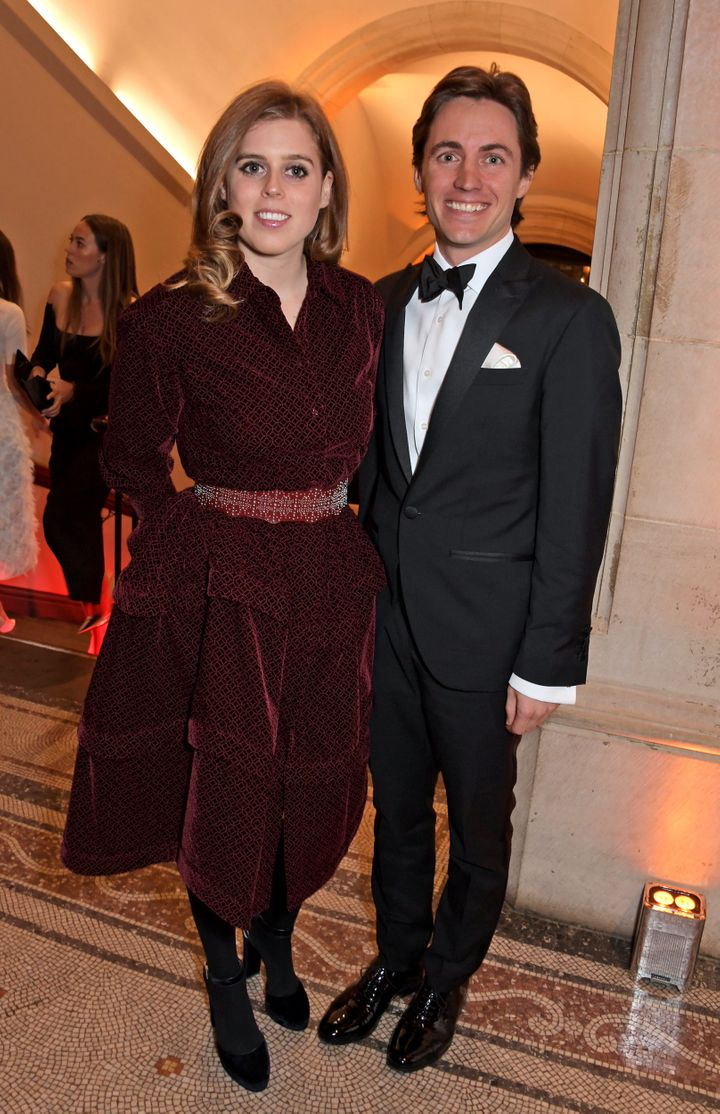 Princess Beatrice and Edoardo Mapelli Mozzi will tie the knot in May.