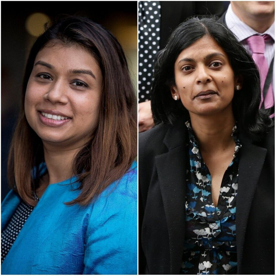 Tulip Siddiq says she and Rupa Huq (right) have been confused on a number of