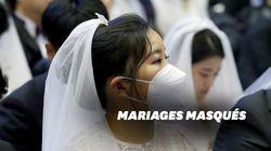 Ces milliers de mariés se sont dit oui masqués à cause du