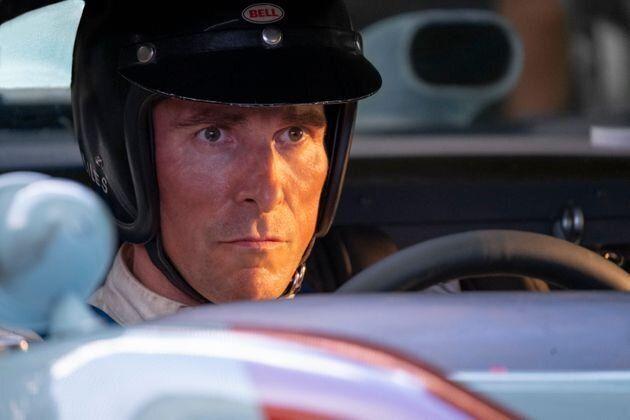 Christian Bale, en su papel del piloto Ken Miles en 'Le Mans 66'.