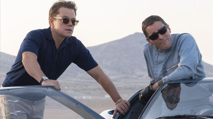 Matt Damon y Christian Bale protagonizan 'Le Mans '66'.