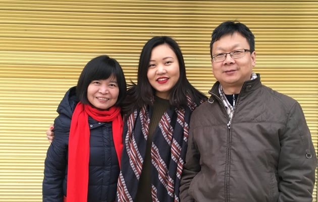 My mother and father during Chinese New Year