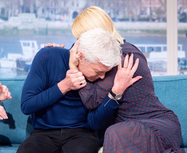 Phillip was interviewed by This Morning co-host Holly Willoughby about his