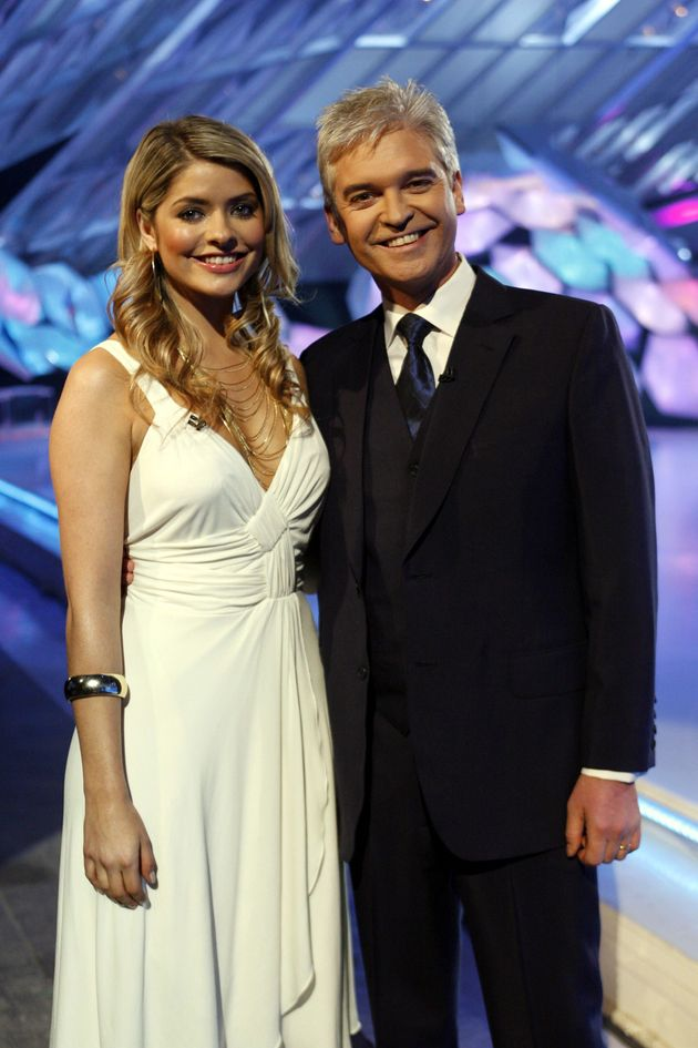 Holly and Phil were first paired up on Dancing On Ice in