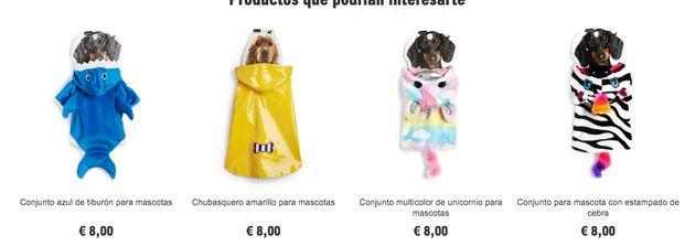 Disfraces para perros de Primark