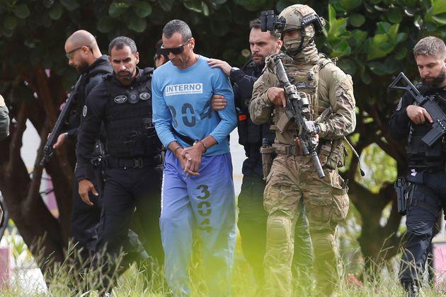 Marcola completará em março um ano no presídio federal em Brasília, e fontes...