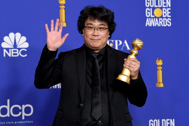 Bong Joon-ho dá uma alfinetada nos americanos ao vencer o Globo de Ouro de Melhor Filme