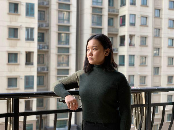 The writer, Debbie Lu.