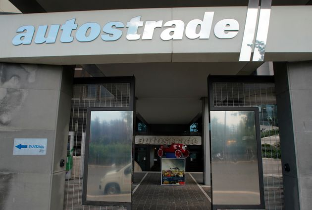 An exterior view of the Autostrade per l'Italia headquarters, in Rome, Friday, Aug. 17, 2018. The government...