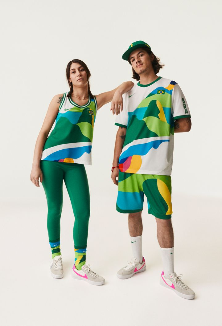 Forget about going for the gold; we're going for Brazil's uniform.