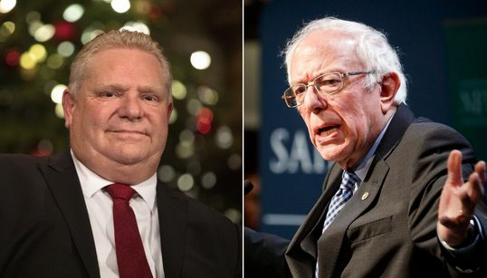 Doug Ford Rips Bernie Sanders' 'Scary' Socialism On Washington