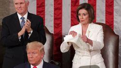 Pelosi avait-elle le droit de déchirer le discours de Trump?