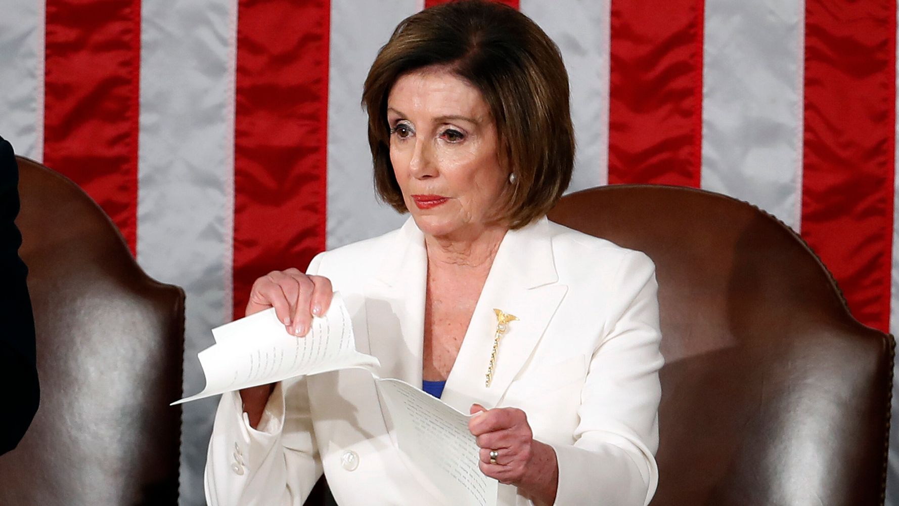 Westlake Legal Group 5e3e6efd210000b407e1cd4a Pelosi Rips Republicans For 'Normalizing Lawlessness' In Scathing WaPost Op-Ed