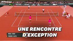 Federer et Nadal battent le record de spectateurs à un match de