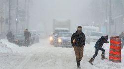 Tempête hivernale: 1250 accidents au Québec, dont plusieurs