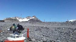 La Antártida registra su temperatura