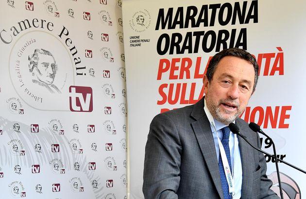 Gian Domenico Caiazza, presidente dell'Unione delle camere penali