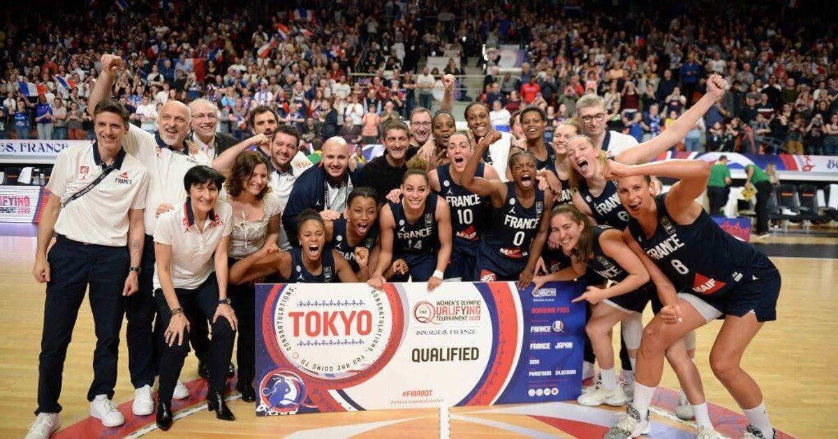 L Equipe De France Feminine De Basket Se Qualifie Pour Tokyo 2020 Le Huffpost