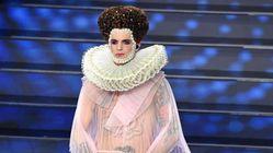 Achille Lauro chiude in bellezza nei panni di Elisabetta I