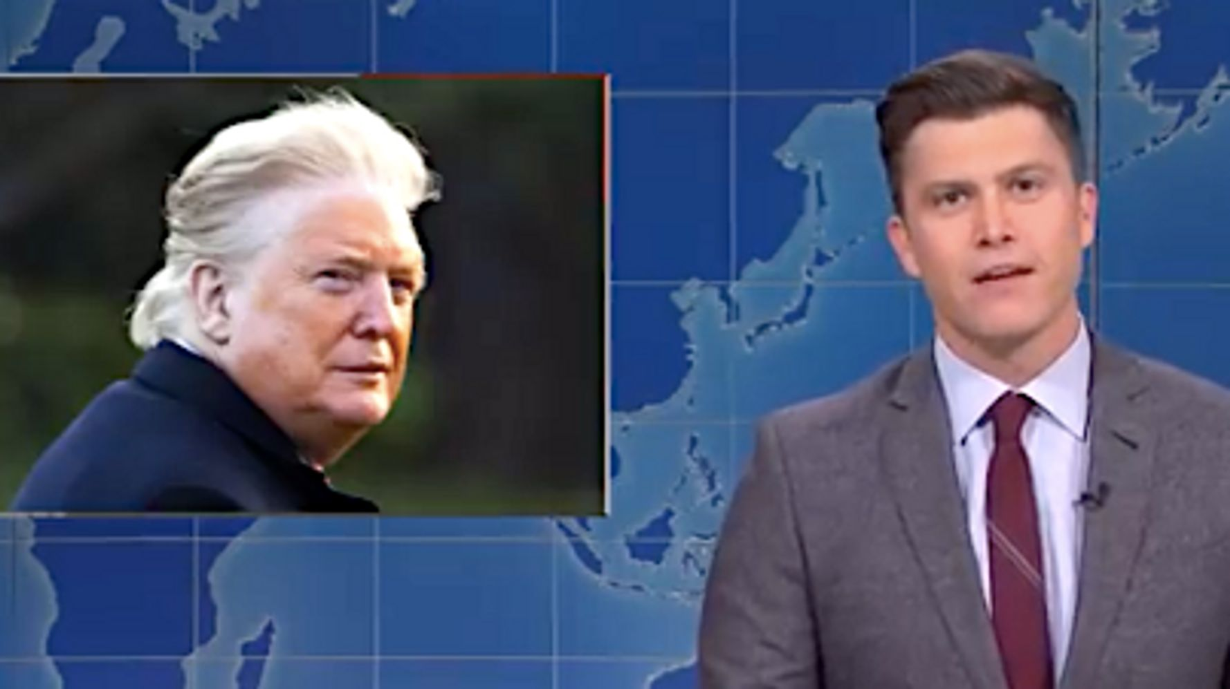 'Weekend Update' Does Epic Takedown Of Trump Over Impeachment, Attacks