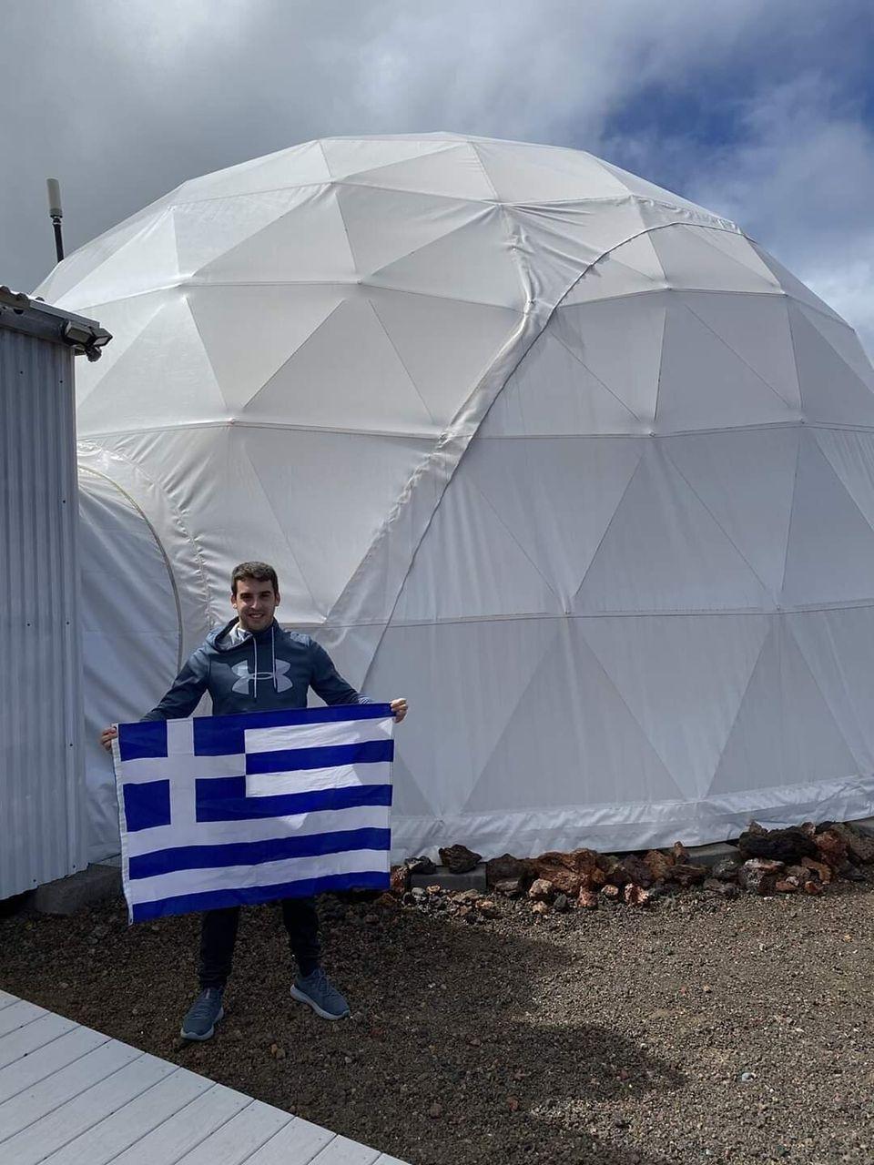 Ο Έλληνας εκπαιδευόμενος αστροναύτης σε αποστολή προσομοίωσης του Ευρωπαϊκού Διαστημικού