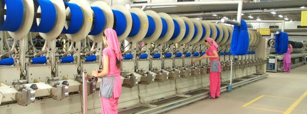 A production unit of Vardhman Textiles at Baddi in Himachal