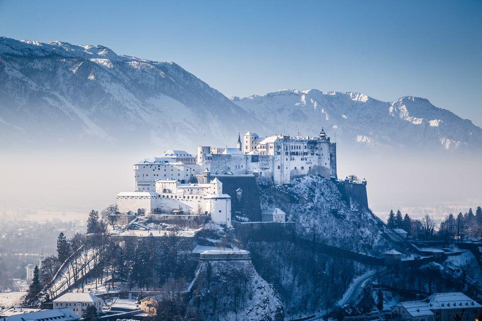 Το Κάστρο Χόχενσαλτσμπουργκ