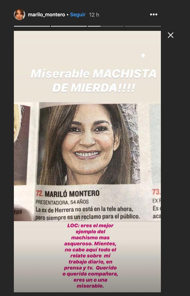 Mariló Montero en