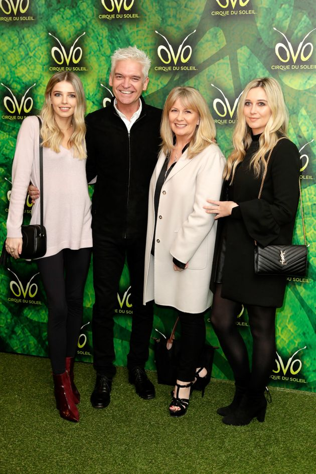 Phillip and Steph with daughters Molly (left) and
