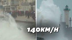 Le nord de la France se prépare à l'arrivée de la tempête