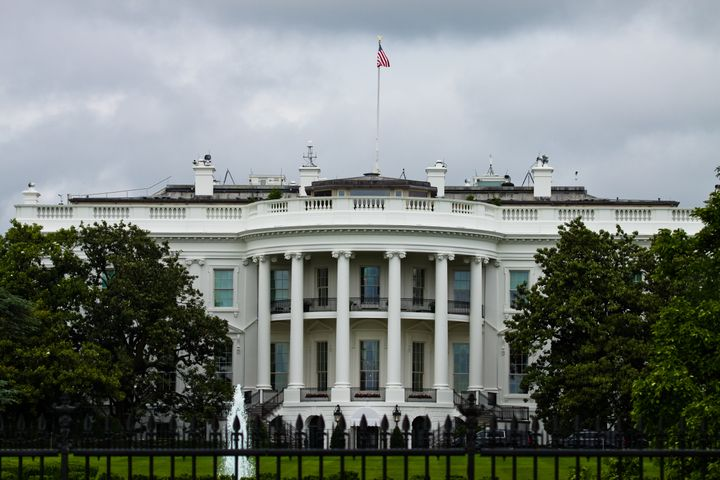 "A 25-year-old man arrested outside of the White House on Saturday allegedly said he was there to ""assassinate"" the president,"