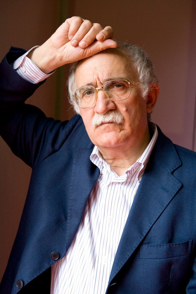 Giulio Ferroni, writer, portrait, Mantova, Italy, 16th May 2009. (Photo by Leonardo Cendamo/Getty