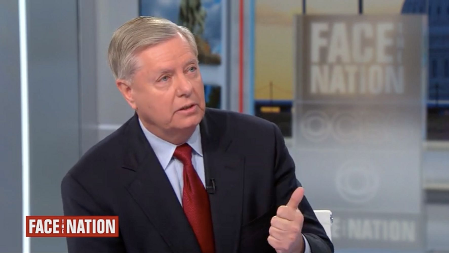 Lindsey Graham Defends Trump Firing Impeachment Witnesses
