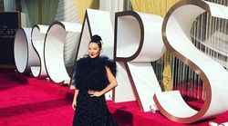 Lainey Lui Is A 'Rebel Chinese Bride' At The Oscars In A Reworn